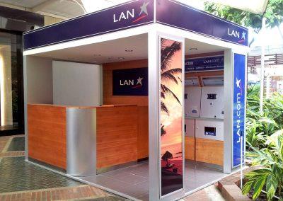 LAN AIRLINES  |  Islas de atención y venta a nivel nacional