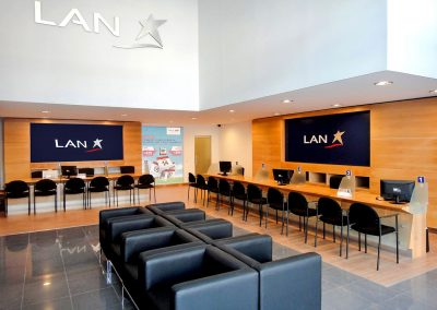 LAN AIRLINES  |  Salas de atención y ventas a nivel nacional