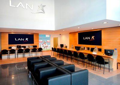 LAN AIRLINES • Salas de atención y ventas a nivel nacional