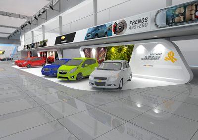 CHEVROLET CAMINOS • Propuesta diseño sala de ventas - Pereira