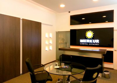 MERKUR GAMING (ALEMANIA) • Show Room - Bogotá