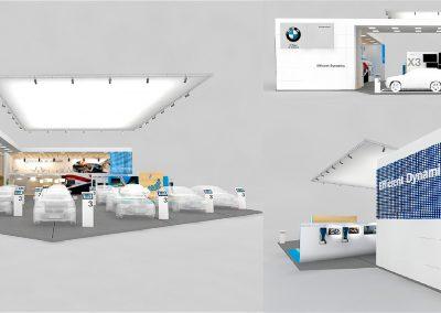 BMW COLOMBIA • Propuesta stand Salón del Automóvil 2016