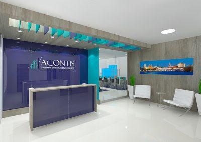 ACONTIS • Propuesta diseño de oficinas - Cartagena