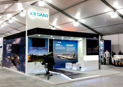 SAAB (SUECIA) • Feria F-Air 2015